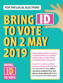 Bring Id to Vote on 2nd May